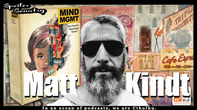 Matt Kindt – BANG! Mind MGMT! Super Spy! Pistol Whip!