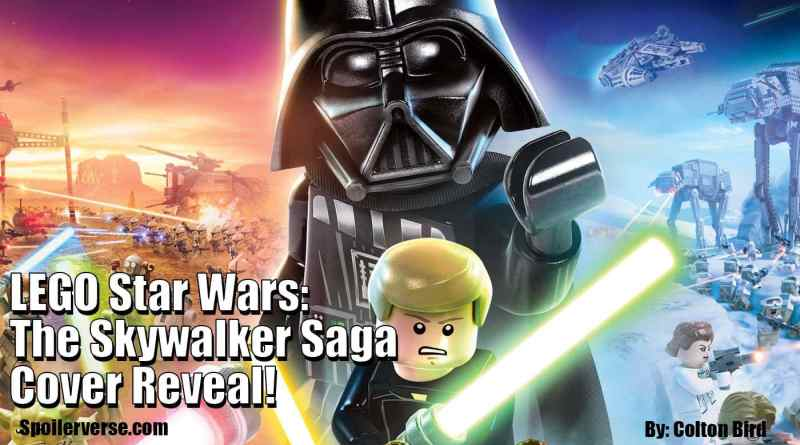 LEGO Star Wars: The Skywalker Saga Cover Reveal!