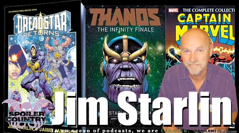 Jim Starlin – Dreadstar Returns! Thanos! Captain Marvel!
