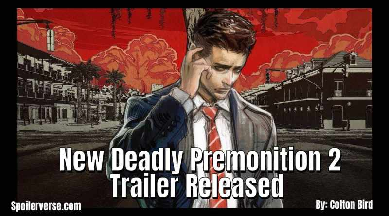 New Deadly Premonition 2 Trailer Released