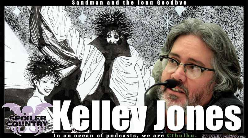 Kelley Jones – Sandman and the long goodbye