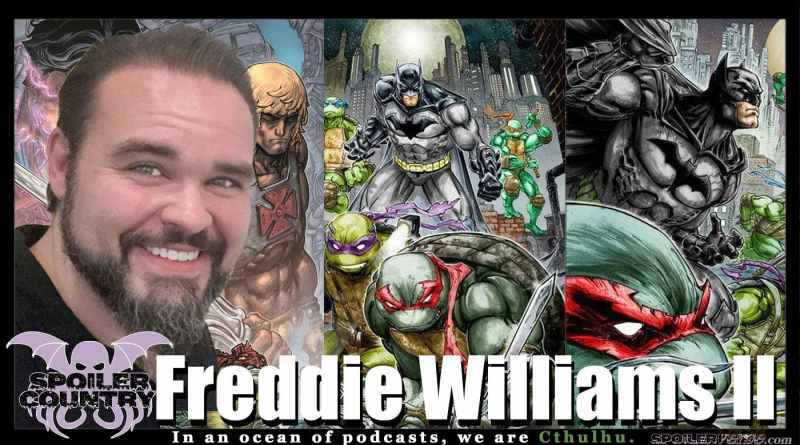 Freddie Williams II – Batman/TMNT! He-Man!