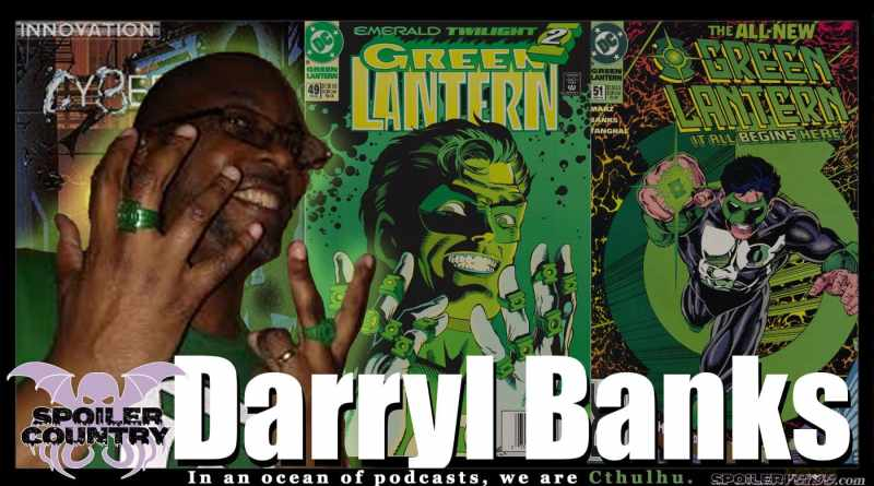 Co-Creator of Kyle Rayner, Green Lantern artist Darryl Banks!