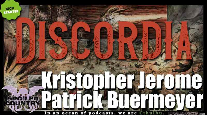 Discordia #0 with Kristopher Jerome and Patrick Buermeyer