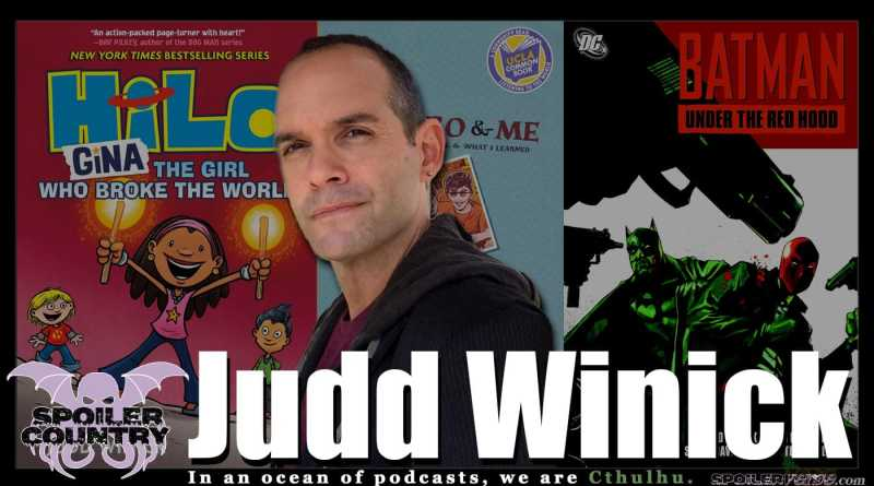 HiLo and Red Hood Creator Judd Winick! (He was also on MTV's The Real World)