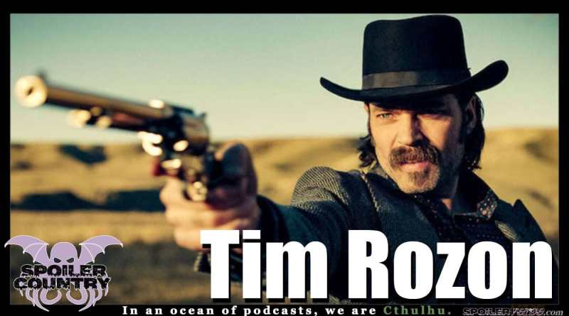 Tim Rozon – Doc Holliday and Mutt Schitt himself!