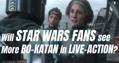 Will STAR WARS FANS see More BO-KATAN in LIVE-ACTION?