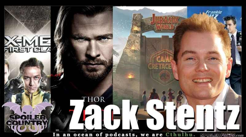 Zack Stentz – Writer of X-Men First Class! Thor! Flash! Booster Gold! Camp Cretaceous!