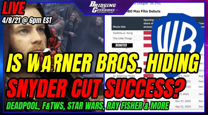 IS WB TRYING TO HIDE SNYDER CUT'S SUCCESS?