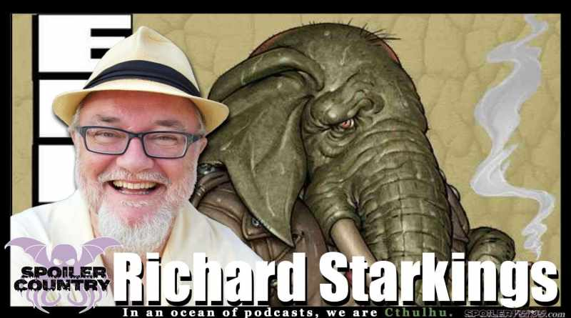 Elephantmen Writer Richard Starkings