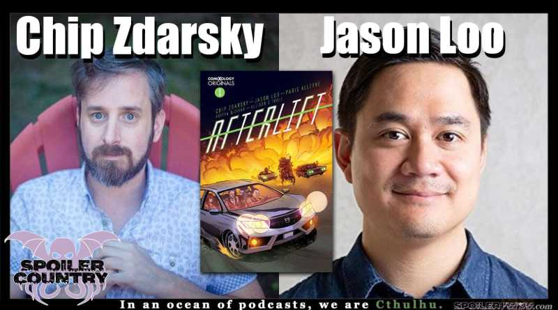 Chip Zdarsky and Jason Loo talk Afterlift from ComiXology Originals!