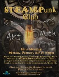 STEAMPunk Club for Teens