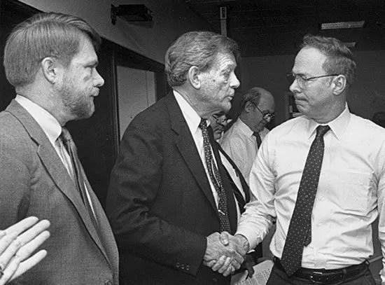 From left: Bobby Hitt, Ben Morris and Tom McLean.