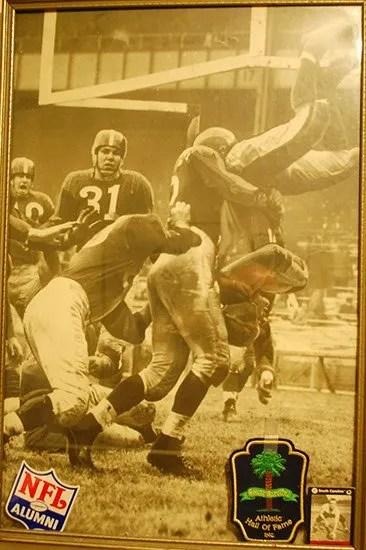 Lou Sossamon in the NFL.