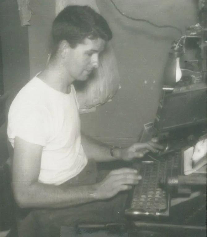 Kilgus in the early days.