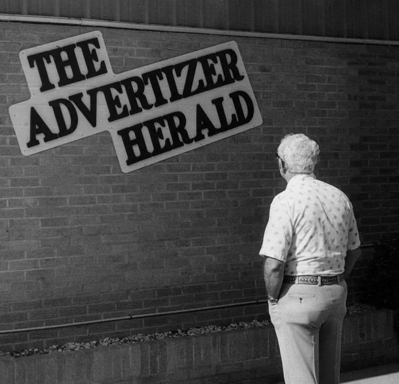 Kilgus at the Advertizer-Herald.