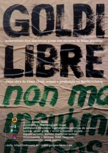 Cartaz Goldi Libre | Insubmisión