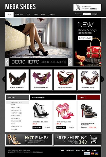 Shoes Virtuemart Template