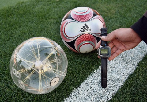adidas-cairos teamgeist II goal line technology solution