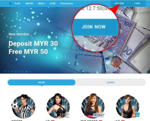 Register iBET SCR888 Online Casino is so easy 1