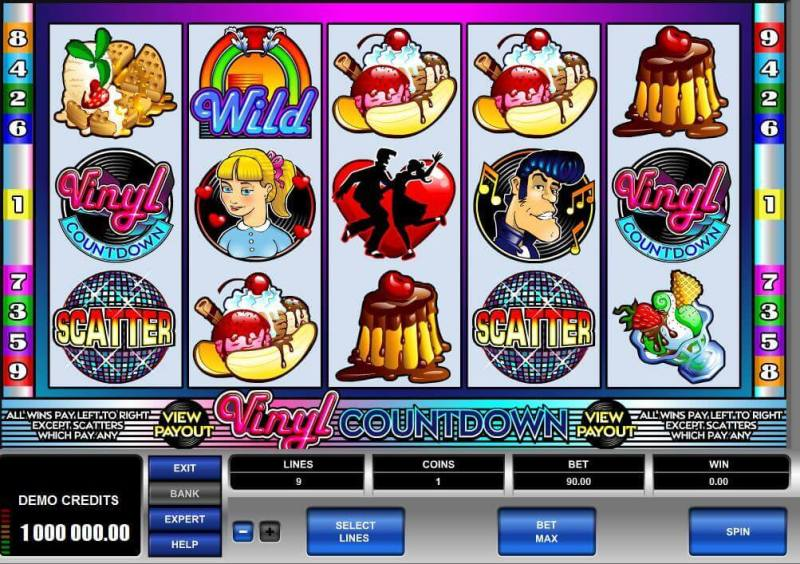 SCR888 Casino Download Vinyl Countdown Slot Game