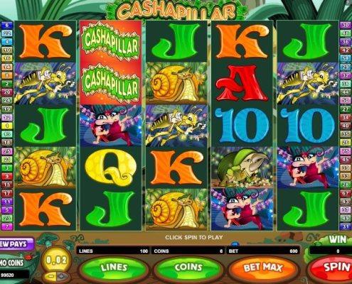 SCR888 Cashapillar Funny Online Slot Game!