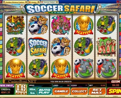 SCR888 Tips : Soccer Safari Slot Game