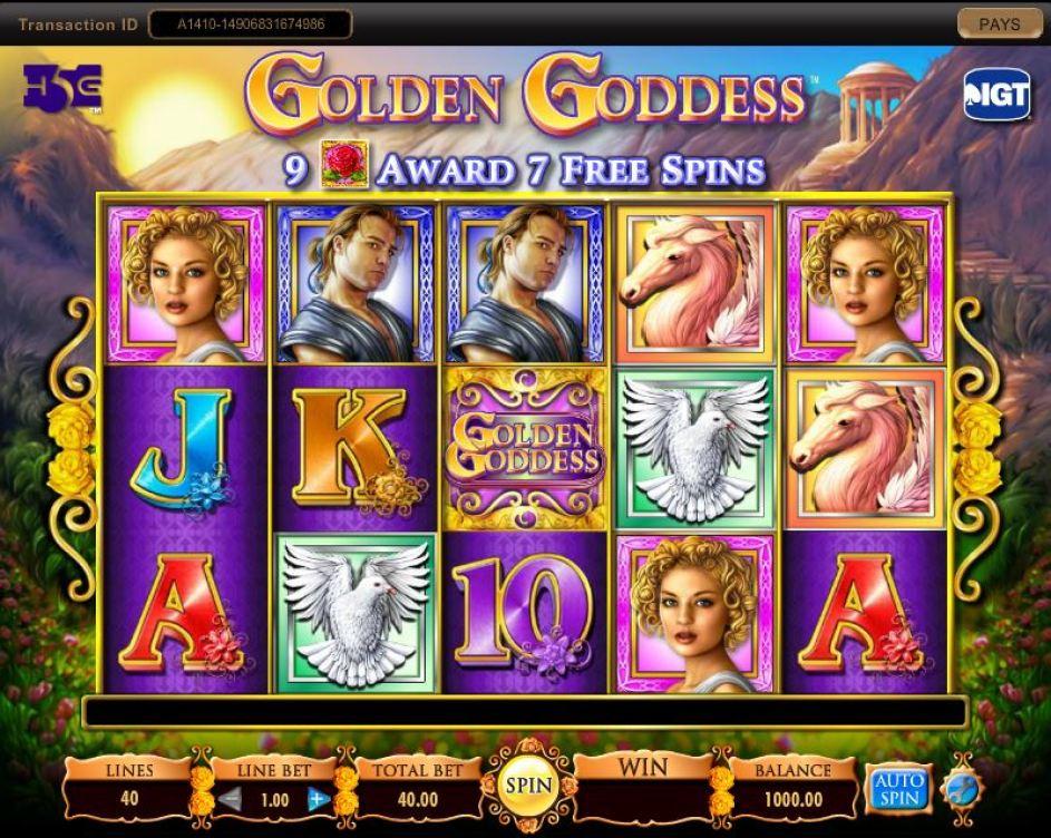 Free Download SCR888 Golden Goddess slot game