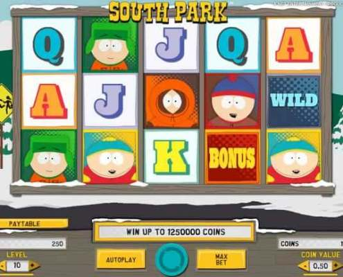 South Park Slot Game Download in SCR888 Casino
