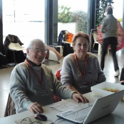 Marie PauleLucry avec Simon Gruchot