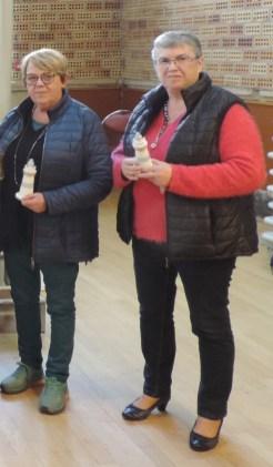 Martine Boule et Marie-Claire Quioc