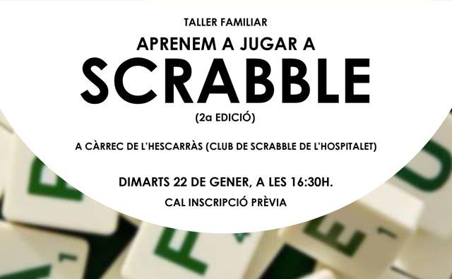 Torna l'Scrabble a la biblioteca Josep Janés