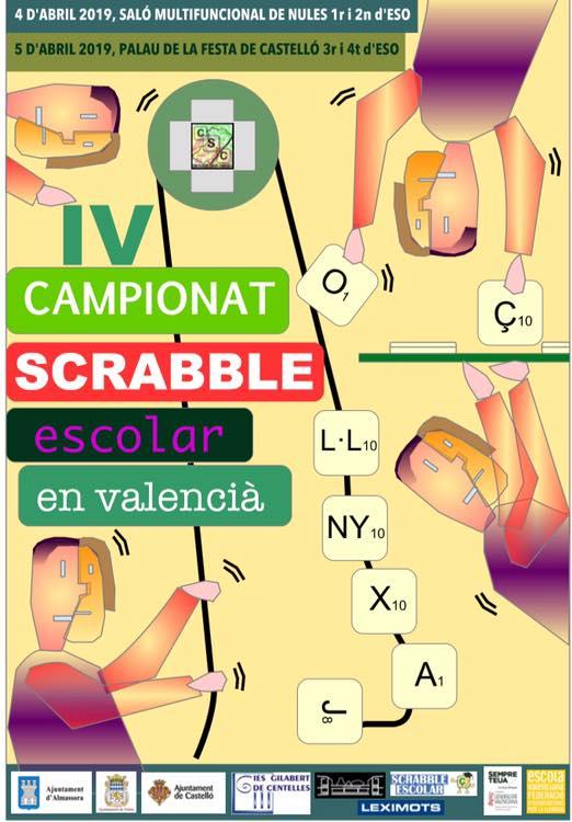 IV Campionat de Scrabble Escolar de Nules i Castelló 2019