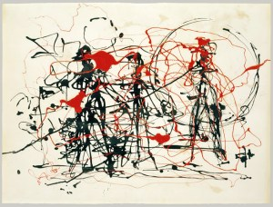 Untitled (1948/49) by Jackson Pollock