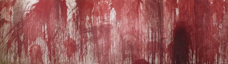 (Spill Painting) by Nitsch (2009)