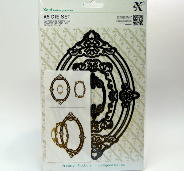 Troqueles marcos ovalados XCut scrapbooking,cardmaking,embossing