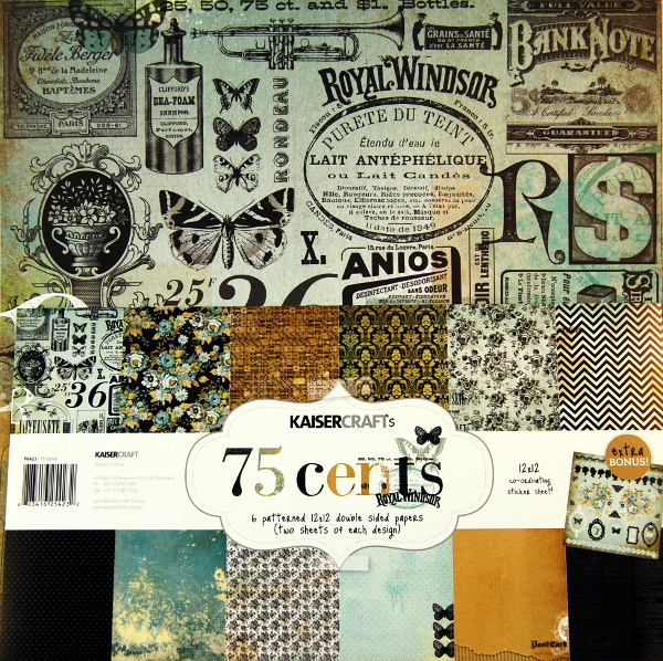 Bloc papel scrap 30x30 75 cents Kaiser Kraft ,scrapbook,cardmaking