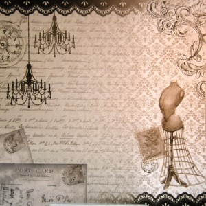 Papel scrap costura Litoarte, scrapbooking,cardmaking