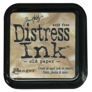 Tinta Distress «Old Paper» MINI