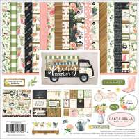 "Stack papel scrap ""Spring Market"" CARTA BELLA"