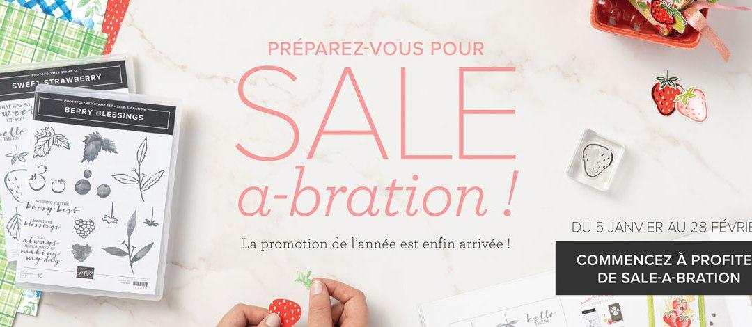 Sale-A-Bration est arrivée !!!
