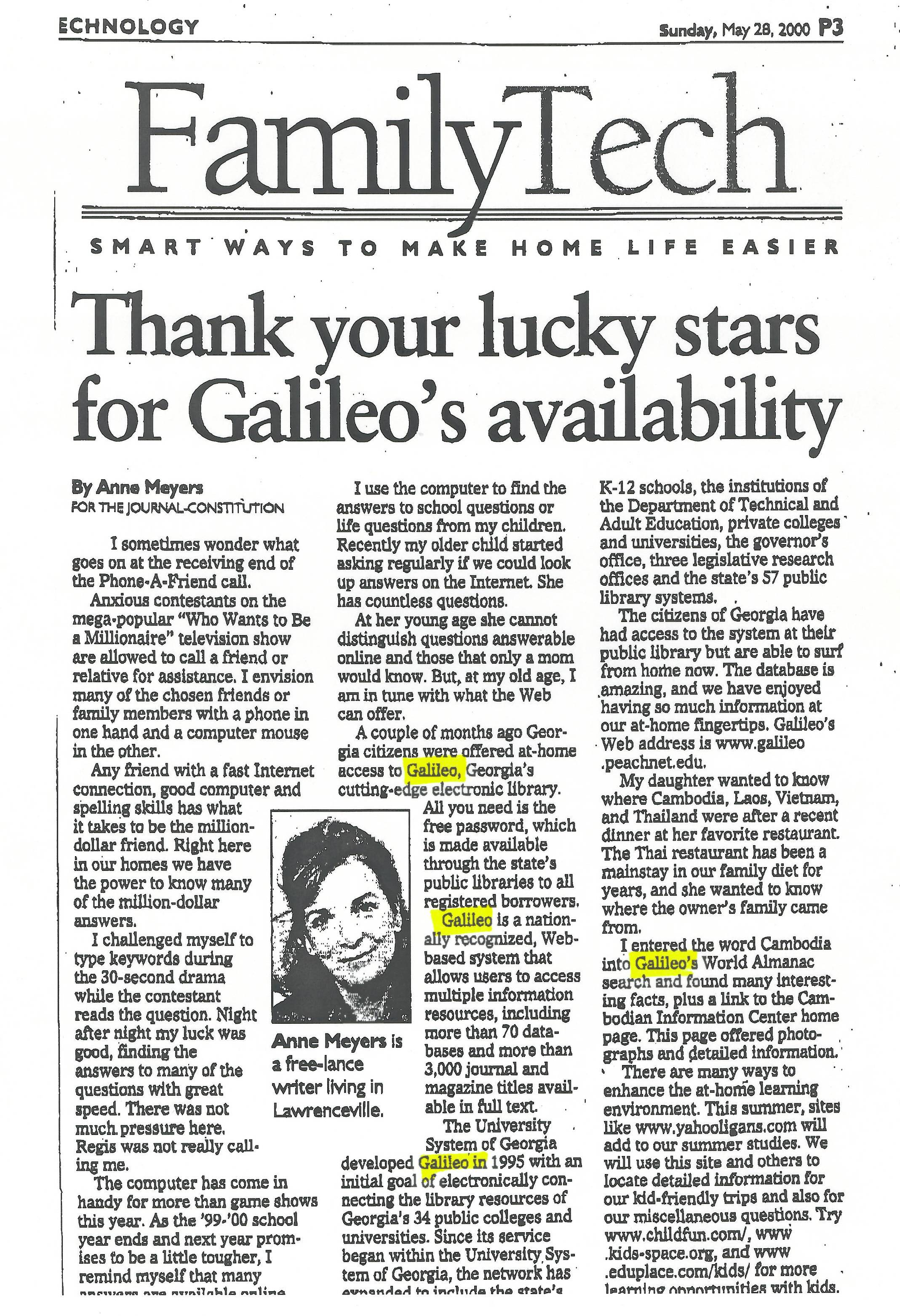Article Thank Your Lucky Stars For Galileo S Availability
