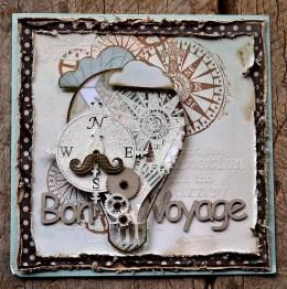 SS Oct Class - Bon Voyage Card