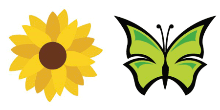 Free Svg Files Sunflower And Butterfly Scrap Booking