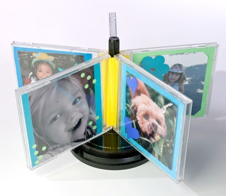 CD Carousel Frame