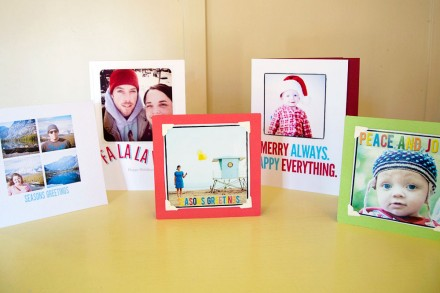tutorial turn your instagram photos into christmas cards