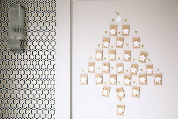 Mini Envelope Advent Tree