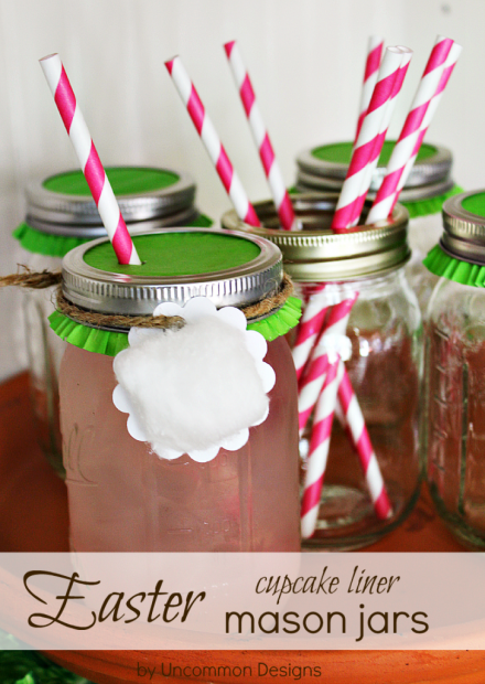Easter-Cupcake-Liner-Mason-Jar-from Uncommon Designs