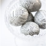 Newspaper Eggs from Craft & Creativity