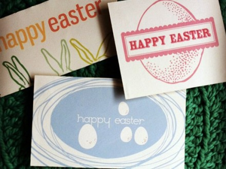 Free Easter Tag Printable from e.m. papers